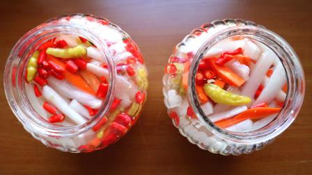 味道堪比饭店的酸辣萝卜条,做法非常简单,味道酸甜爽口又下饭