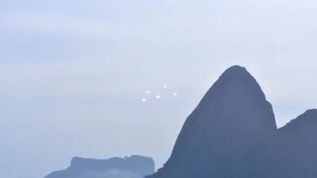 实拍不明发光物体在空中杂耍的画面,这该作何解释?