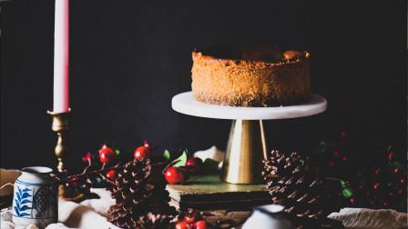 我的日常料理 第二季 制作ins网红甜品:巴斯克南瓜香料芝士蛋糕