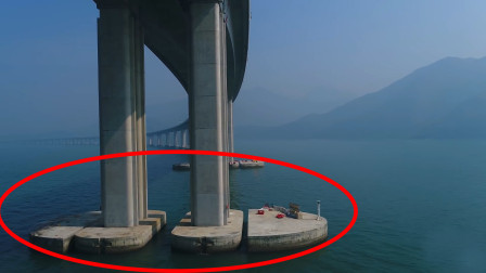 大海深度近百米,港珠澳大桥桥墩如何建造的?看完佩服工程师智慧