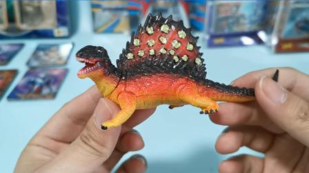 恐龙玩具蛋爆出凶猛异齿龙!在地面匍匐前进的掠食者