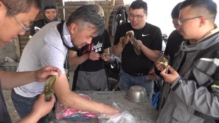 最有意义的端午节,在戈壁滩上找了一个棚子煮粽子,凉快又好玩!