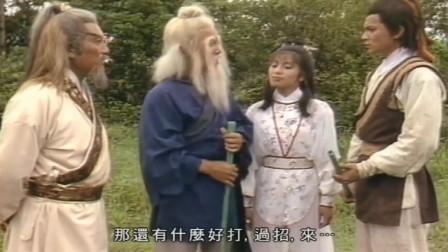 郭靖和黄老邪比武,真是后生可畏,这一战百年难得一遇,精彩