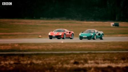 法拉利488 Pista vs 迈凯伦600LT