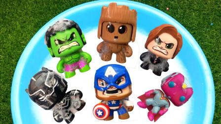 复仇联盟卡通动漫手办玩具,金刚狼、黑武士、雷神、神奇女侠、超级飞侠!