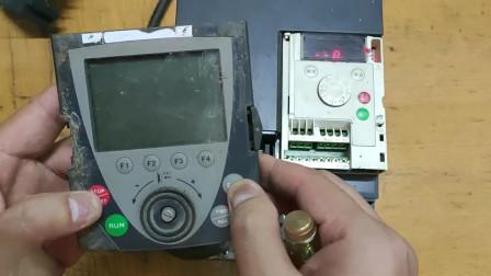 施耐德变频器,讲解功能接线端子及面板设置参数操作如何使用