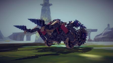 【唐狗蛋】besiege围攻 三叉戟变形机器人