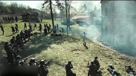 二战经典谍战电影,德军气势汹汹涉关卡,游击队血战到底出重围