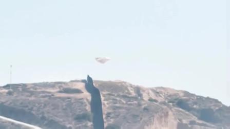 实拍UFO起飞全过程,网友:外星人大白天就这么明目张胆吗