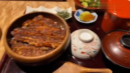 360人民币一份的鳗鱼饭,吃撑都没吃完打包带走