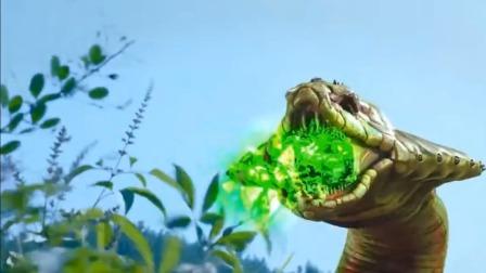飞刀:龙逸想毁掉曼陀罗花,不料守护兽蛇王来袭,上来就是口毒液