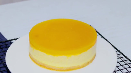 芒果慕斯蛋糕,学会了去试试吧