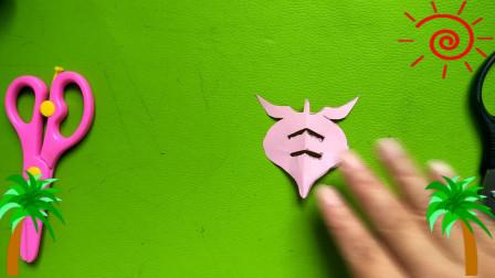 桃子剪纸  儿童幼儿手工制作剪纸教材