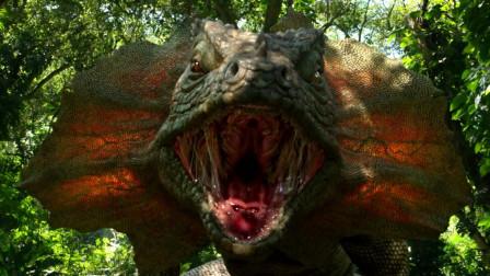 4人去神秘岛探险,发现蜥蜴大得像恐龙,大象却小得像宠物狗
