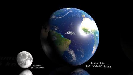 渺小了!地球在这里只是一个点,人类更是小的看不见了