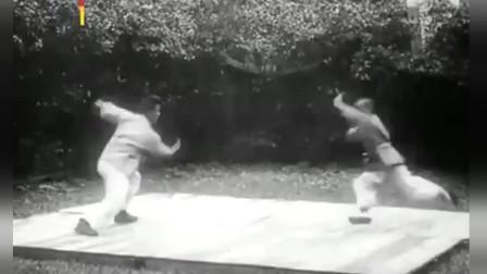 什么叫中国武术?德国人1925年拍摄的中国武术纪录片