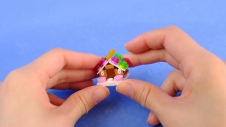 熊孩子的乐高课 用简单的乐高积木搭建迷你姜饼屋