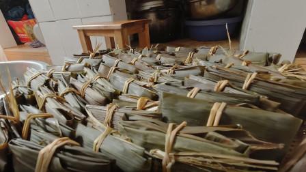 广西贺州市农村过节 手工美食 很多人没见过 你吃过吗