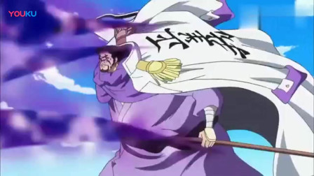 海贼王:大将猛虎的一刀!就算是两年后的索罗也不敢硬接!