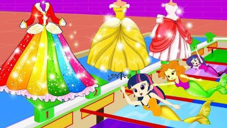 艾达琪砍了紫悦的草莓树,结果草莓树是自己的 小马国女孩游戏