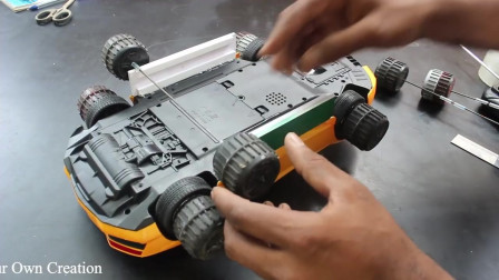 纯手工玩具改造:如何制作汽车神奇的DIY玩具