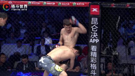 内蒙古大汉1分45秒单挑职业拳王,暴力抱摔直接往地面上砸击获胜