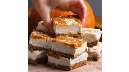 别去蛋糕店买了, 芝士蛋糕的做法原来这么简单, 香甜细腻, 入口即化