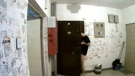 """北京警方通报""""男子在楼道裸露下体 """":已拘留"""