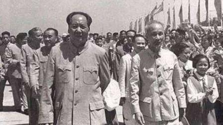 1965年胡志明秘密访华给毛主席一张纸条就调动我国8万大军