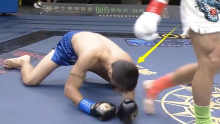 13战10胜世界冠军无视中国新人王,结果20秒就被KO,裁判看怕了
