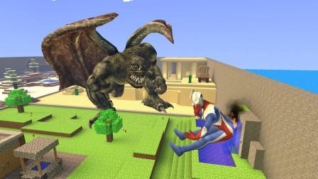 GMOD游戏高斯奥特曼打怪兽打的屁股着火了怎么办?