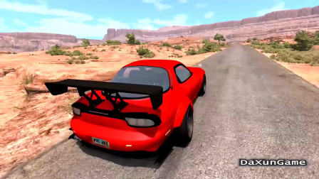 车祸模拟器:再好的车也抵挡不了爆胎的危险性