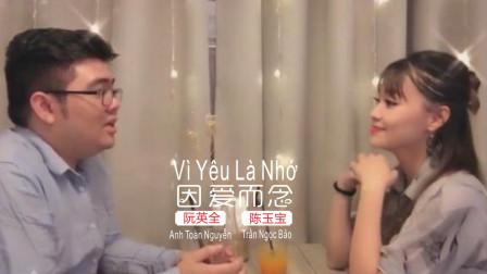 越南歌曲中文榜《因爱而念》Vì Yêu Là Nhớ华语
