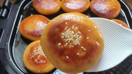 柿子饼这么做太好吃了,软糯香甜,外酥里嫩,做法简单又快速