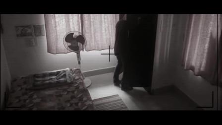 实拍男子入室盗窃遭遇灵异事件!