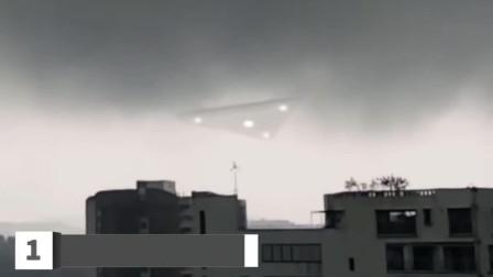 小镇上空拍摄到巨型UFO画面,别再说是5毛钱特效了