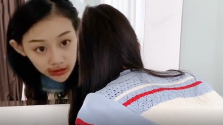 祝晓晗妹妹搞笑短剧:闺女一招暴露了自己,看到最后笑的我门牙都没了