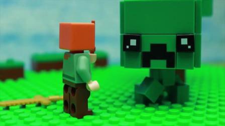 我的世界动画-乐高魔术杖-HanTube Toy