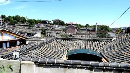 亚洲东部旅游 韩国首尔北村伟人村