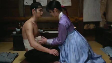 绿豆传:男主为救小姐姐受伤了!这段好甜啊,恋爱了!