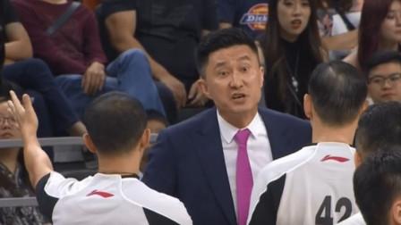 中国男篮新帅真尴尬!杜锋遭驱逐,落后的广东由助教带领疯狂逆转