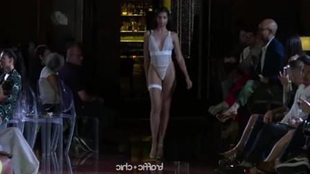 时装秀:看望这场法国内衣秀,网友:热血沸腾