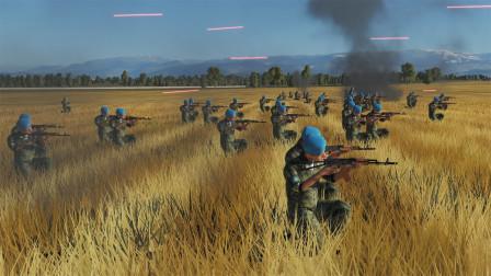 战争模拟:100把AK和100把M4  谁火力更强?