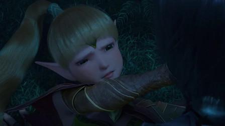 龙之谷:精灵被小鱼压到,使劲的推他,表情太可爱了