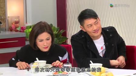 肥妈煮黑胡椒蟹,邵美琪,黄德斌,陈山聪品尝美食