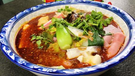 天凉了,做一盆简易版的麻辣烫,热气腾腾的,吃着暖心又暖胃!