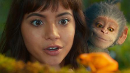 小女孩救了一只小猴子,小猴子为了报恩为她找到了一座黄金城