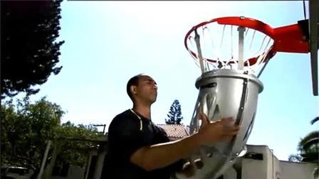 有了這投籃神器再也不用為撿球而頭疼你想試試嗎