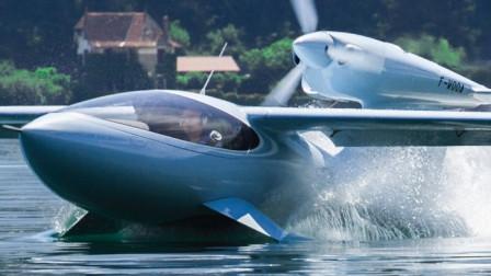 """国外最新高科技""""飞行器"""",海陆空随意驾驶,1200万售价贵不贵"""