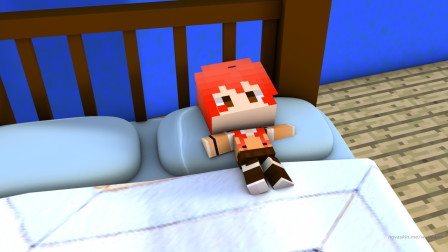 来我家咱切磋切磋——甜萝酱我的世界Minecraft小游戏起床战争